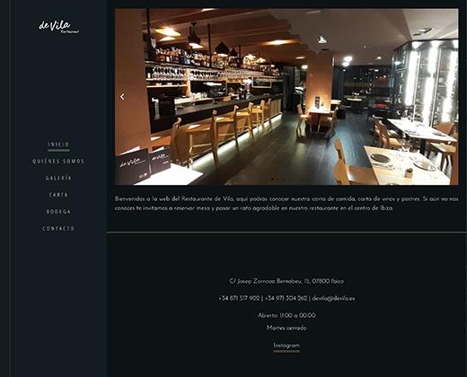 Restaurante De Vila