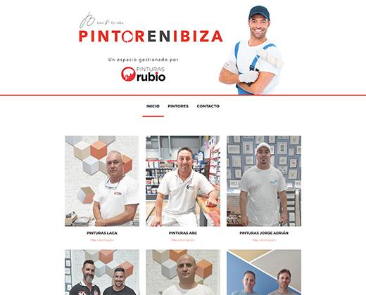 Pintor en Ibiza